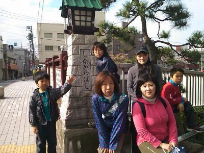東海道を歩く 品川宿 → 川崎宿 2010/04/10