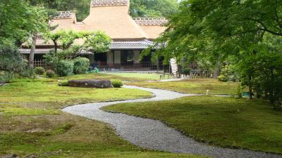 吉城園 苔の庭と茶花の庭