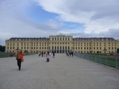 2009年5月 ウィーン~プラハ旅行記 3日目シェーンブルン宮殿~プラハへ移動編