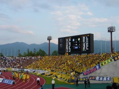 2010.06サッカー観戦 ジェフ千葉×ヴァンフォーレ甲府