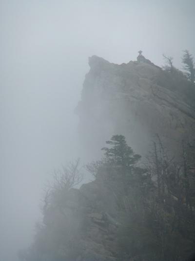 石鎚山へ やっと春