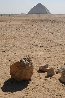 ★エジプト記(9) −サッカーラ街道とメンフィスのあたり