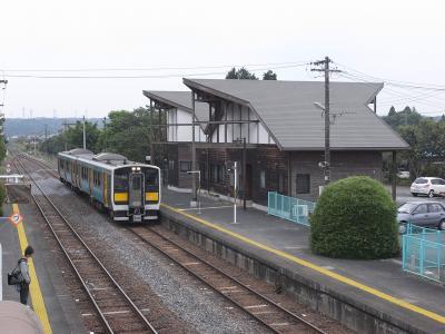 玉川村駅舎:関東の駅百選 :JR、茨城県