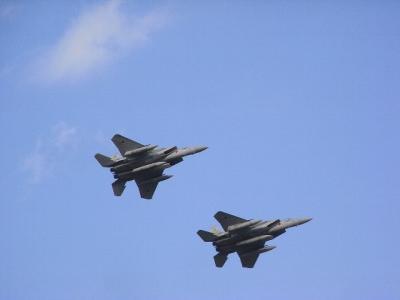 自衛隊小松基地の航空ショー2009