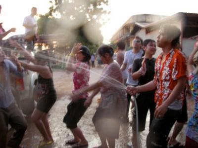 Laos! Water Festival!!
