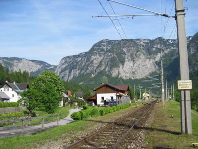 オーストリア (9) ザンクトギルゲン → バートイシュル → オーバートラウン