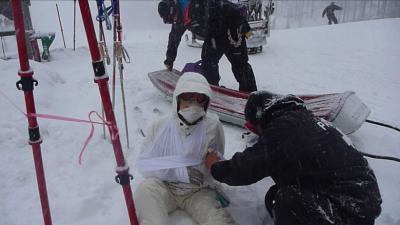 正月スキー&妻脱臼