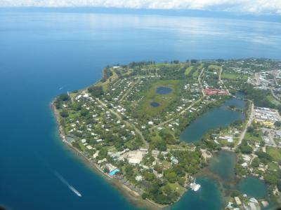 2010年4月 パプアニューギニア旅行 その35:国内線でポートモレスビーへ②