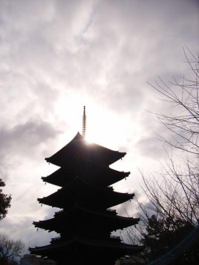 京都、早朝散歩。東寺~東本願寺~清水寺