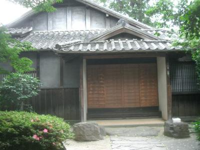 小泉八雲旧居は典型的な日本家屋