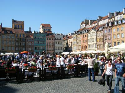 2009年 ポーランド&オランダ旅行 その4(ワルシャワ)
