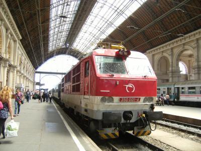 還暦旅38 ブダペストへの列車旅