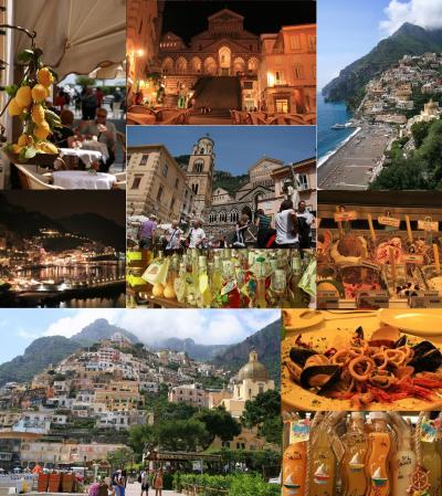 2010年G.Wイタリア アマルフィ・ローマの旅~アマルフィ編①~