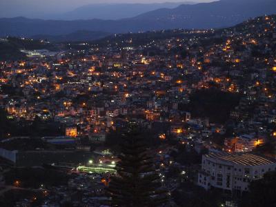メキシコ高原都市めぐり、ひと月の女一人旅、(7)モンテ・タスコからの風景