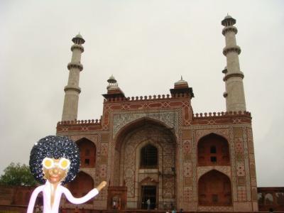 なみお&みすたぁのなんちゃって世界一周旅行 インド・シカンドラ廟
