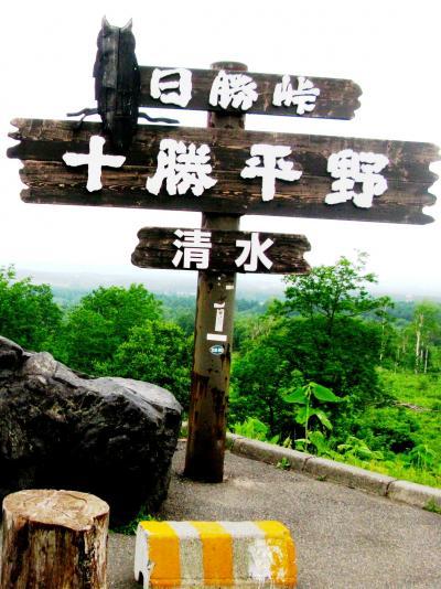 道東-1 日勝峠を越えて足寄まで ☆羽田発ANA53便で新千歳へ