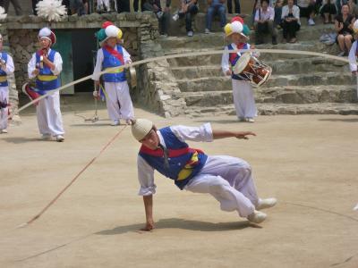 韓国再訪13 韓国民俗村4(農楽)