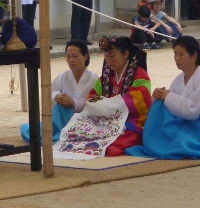 韓国再訪16 韓国民俗村7(伝統婚礼)