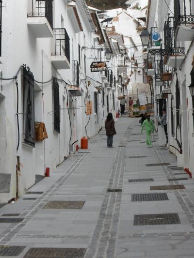 アンダルシアの白い村とラマンチャの風車~4日目(1) ミハス