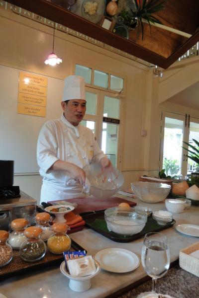 caroさんとオリエンタル・ホテル料理教室 * バンコク紀行(11) *