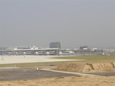 2004年9月9日 中部国際空港(建設中)