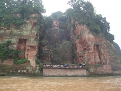 中国の世界遺産 楽山大仏