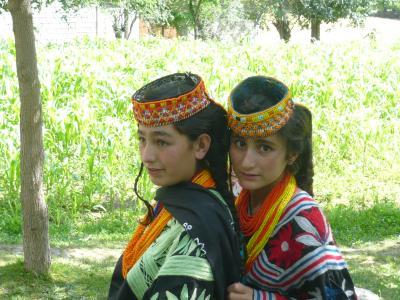 北部パキスタン冒険行--①秘境カラーシャ谷編
