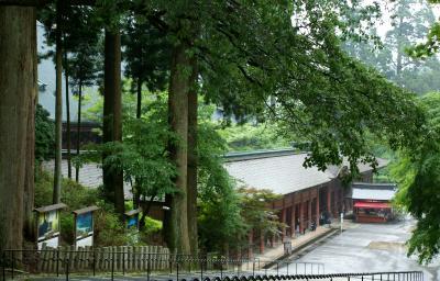 夫婦DE修学旅行 梅雨の京都(比叡山延暦寺)