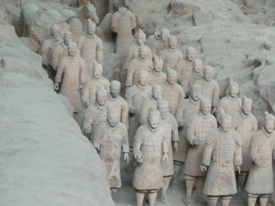 兵馬俑、華清池、陝西省博物館、古文化街