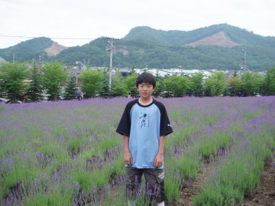 東海大学内 ラベンダー畑(o^-^)o