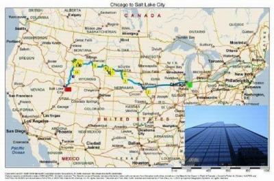 アメリカ中西部の旅(その1:シカゴからオマハ)