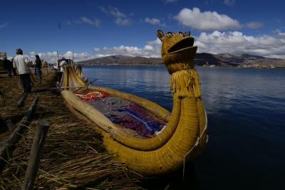 ペルー旅行記⑦ チチカカ湖でウル族の仲間入り編