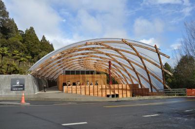 2010年7月ニュージーランド旅行2(ワイトモ洞窟)