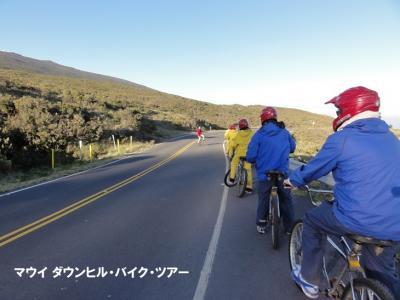 マウイ島&ハワイ島旅行 (5) ハレアカラ自転車ダウンヒルとカパルア・ビーチ (2010年)
