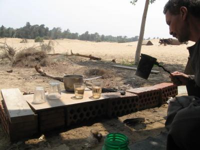 サハラ砂漠の隣村 訪問