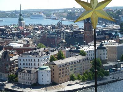夏のスウェーデン