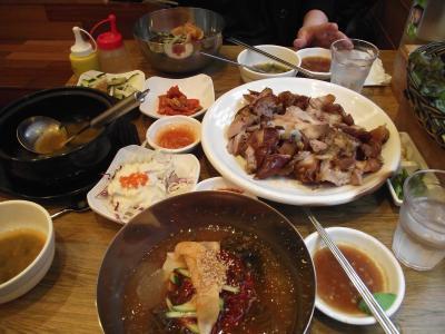韓国プサン(釜山)弾丸ツアーNo.4 「海鮮鍋とチョッパルでお腹いっぱい!」