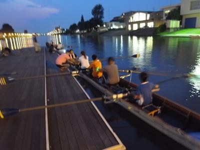 夕涼みボート教室 戸田
