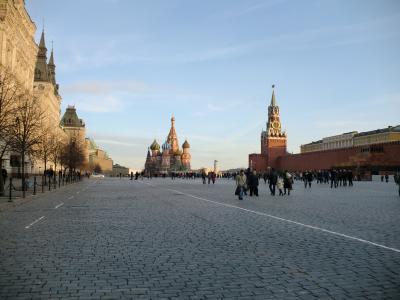 2010 #5 夕暮れモスクワの散歩