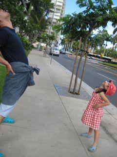 4歳児とハワイ♪2010☆BBQ とゴルフデビューの巻3