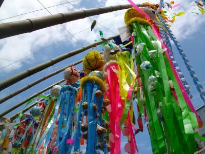 ひさびさの激安湯河原温泉でまったり♪行きしに見つけた湘南平塚七夕祭りであぢぃ↓