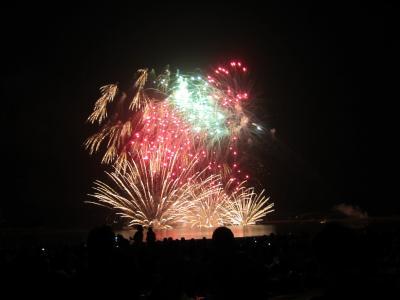 ぎおん祭り2010IN柏崎海中大花火
