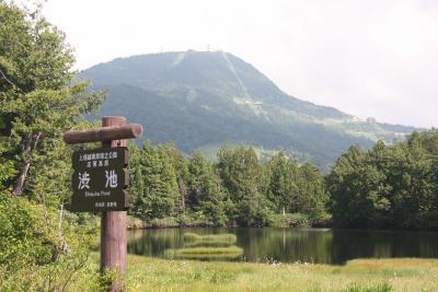 夏の山旅:志賀高原(前半)