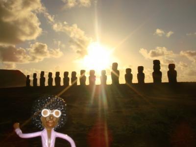 なみお&みすたぁのなんちゃって世界一周旅行 チリ・イースター島⑤