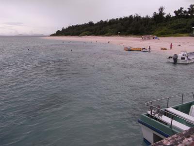沖縄本島北へ南へ2010夏(4日目)~雨の水納島