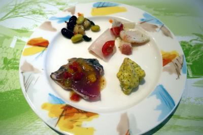 05.海の日の3連休を過ごすHVC静波海岸 東急ハーヴェストクラブ静波海岸 レストラン リヴァージュの静波・サマーブッフェのデザート 私のお食事