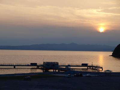 青森散歩 3 夕日の美しい浅虫温泉