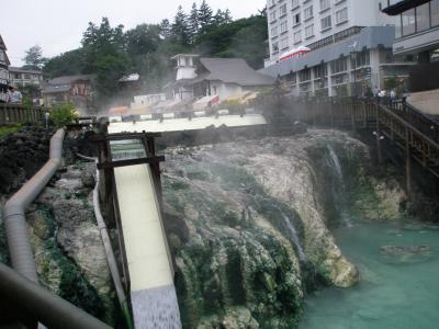 草津温泉に行きました。
