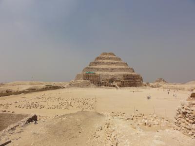 ギリシャ・トルコ・エジプト15日間No.34-エジプト:サッカラの階段ピラミッド