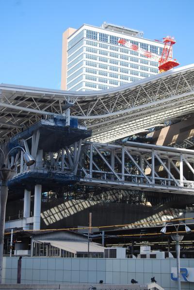変わる大阪駅周辺の風景